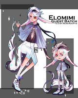 [42Hr Auction] Guest Elomimi (Closed) by shigay