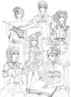CR - Divisi 9 Lineart by ciphz