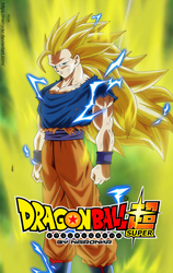 goku ssj3 posters by naironkr