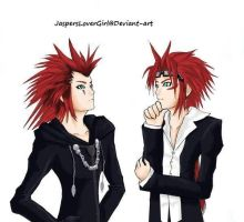 Reno and Axel..Meeting?? by JaspersLoverGirl