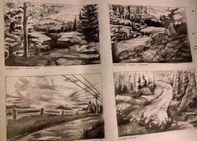 Landscape Sketches  by animaddict