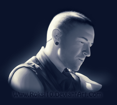 Chester Bennington by PuroArt
