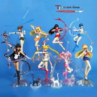 My Sailor Moon S.H. Figuarts Collection ... so far by zelu1984