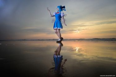 Touhou Project - Cirno by vaxzone
