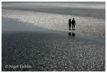 Walk in the wadden sea by nigelt