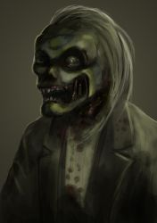 Mr Smith the ghoul by DeviantDel