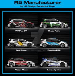 R5 Cars Concept by renxo93