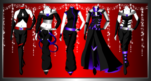 Megaria Outfits 1 by 2050