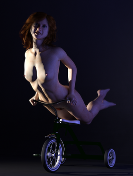 Pin Up Ana by Doing-it-in-3d