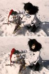 I Made a Snowman! by RodianAngel