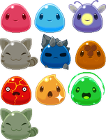 Cute lil' Squishies (FINISHED!) by SpeedXaaa