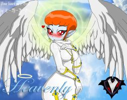 Heavenly - Divine Angel by PlayboyVampire