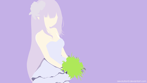 Emilia Bride Minimalist by aevolution0