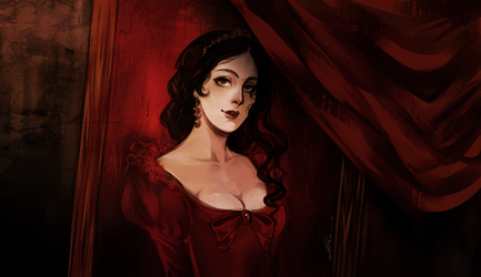 Layers Of Fear. Wife by AShiori-chan