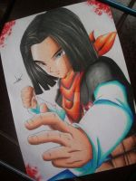 Android 17 by vitorsantos18