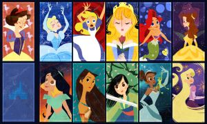 Disney Ladies Trading Cards by The-Orange-One