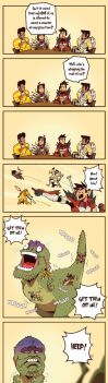 Monster Hunter: Mounting by RandoWis