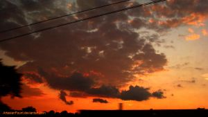 Philly Sunset in July by ArtesianFount
