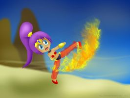 Fire Kick by ThanyTony