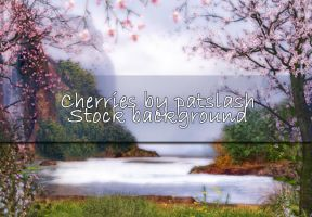 Cherries BG By galleryofdreams by TW3DSTOCK