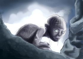 Gollum's song by Whispering-forests