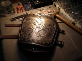 Assassin's Creed: Brotherood left bracer by Khaalesi