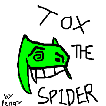 Tox The Spider by RachyTehPengie