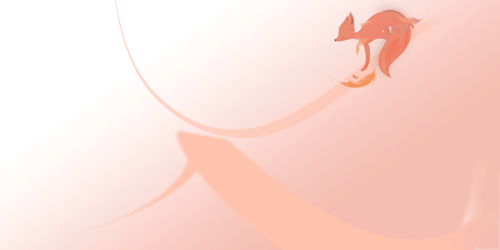 playing fox by DolphinCry
