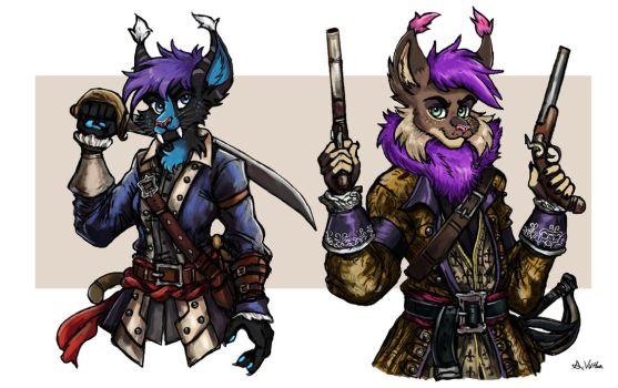 Gale and Strobes - Pirates of the Carribbean by TheLivingShadow