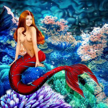 An Interview with Mermaid Eva by sirenabonita