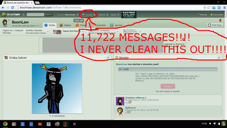 i NEVER CLEAN OUT MY INBOX by BoomLaw