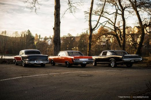 1956, 1975, 1967 by AmericanMuscle