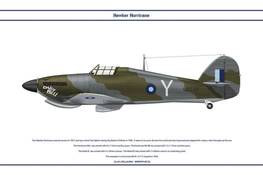 Hurricane GB 113 Sqn by WS-Clave
