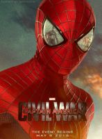 Captain America: Civil War (Spider-Man Poster) by Enoch16