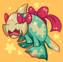 Relicanth is the cutest by Bluwiikoon