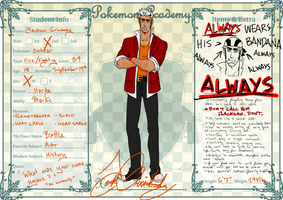PokeAcademy: JACK - 2nd Year! by StenpaiTheGreat