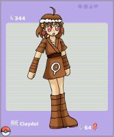 Pokemon 344: Claydol by jigglysama