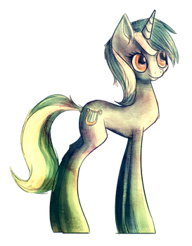 Old Lyra Sketch by jubilannt