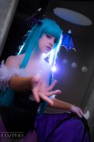 Morrigan Light by IchigeiCosplay