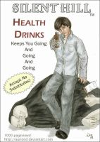 Silent Hill Health Drink Ad by auriond