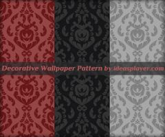 Decorative Wallpaper Pattern by PetyaPlamenova