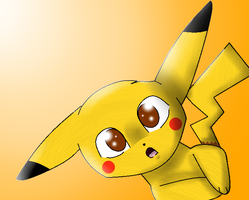 Pikachu by theshadowpony357