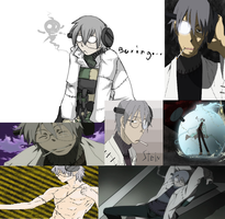Stein from Soul Eater by sbethard11