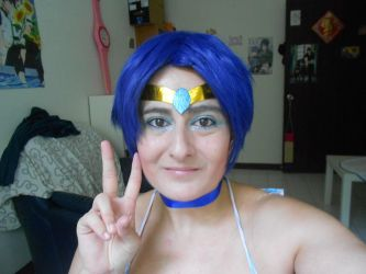 Sailor Mercury, new cosplay by Baoline-chan