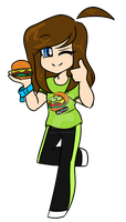 Pickles on burgers are great by blucloud-zz