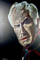 Vincent Price: House of Usher by monsterartist