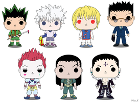 Hunter X Hunter Pop Vinyl by PDJ004
