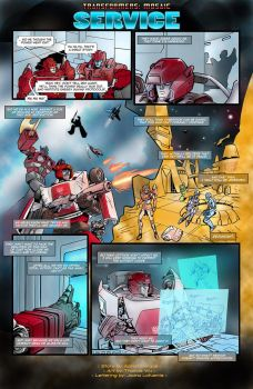 Service by Transformers-Mosaic