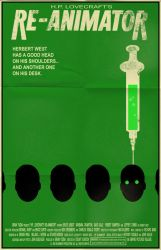 Re-Animator poster by markwelser