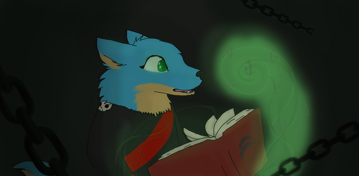 For espioboid - forbidden spell book by ThatOneCatOnline